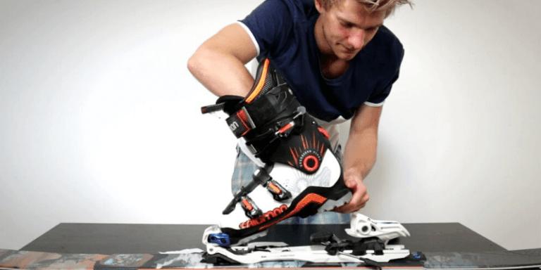Cómo medir las botas de esquí