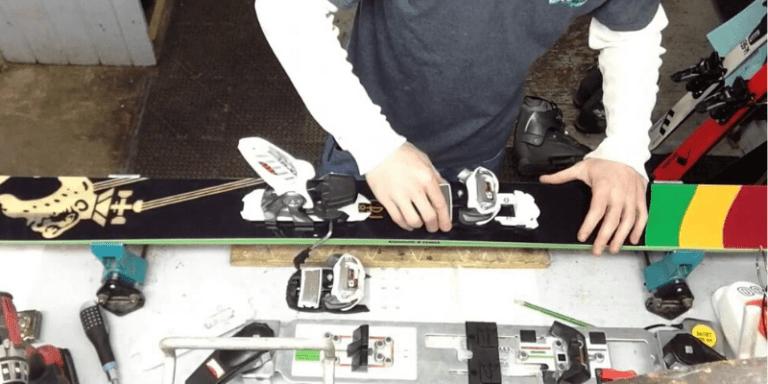 Cómo montar y ajustar las fijaciones de los esquís