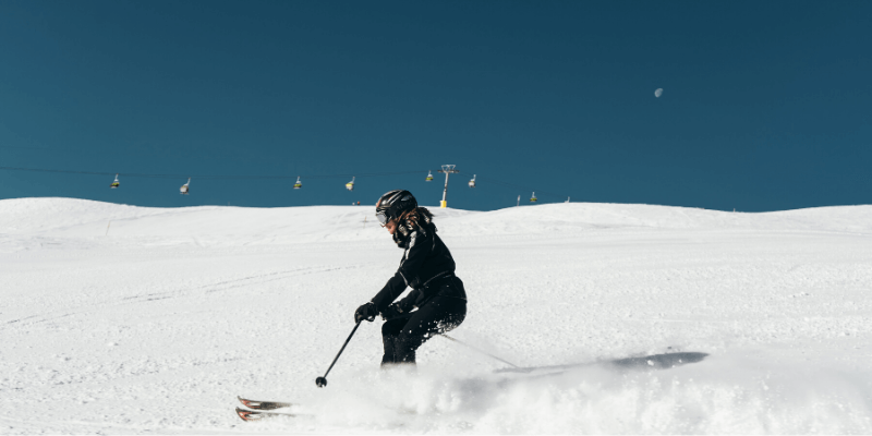 Slow Down While Skiing
