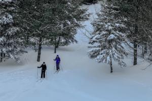 Qué llevar en el esquí de fondo